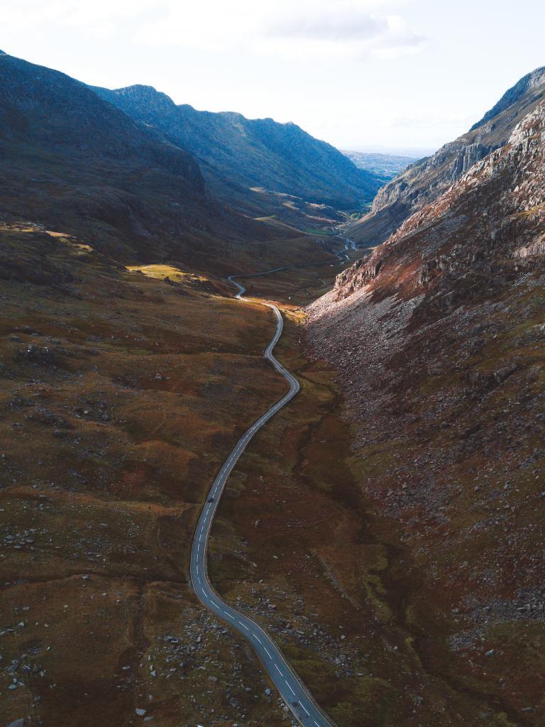 top  views  snowdonia north wales
